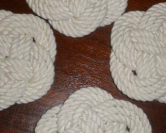 Sailor's knot coasters (NR00006)