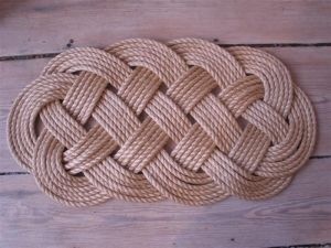 Manila rope mat from Art of the Sailor  (NR00012)